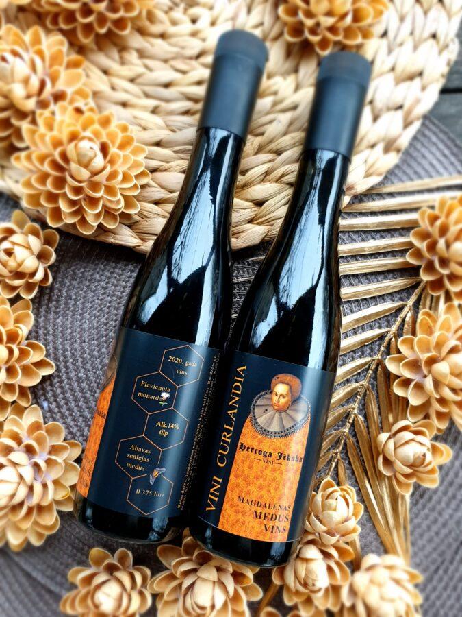 Magdalēnas Medus vīns ar monardu 0.375L